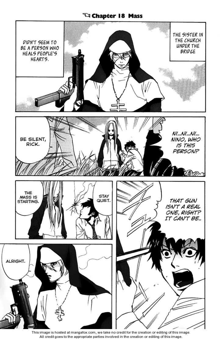 Arakawa Under the Bridge 18 Page 1