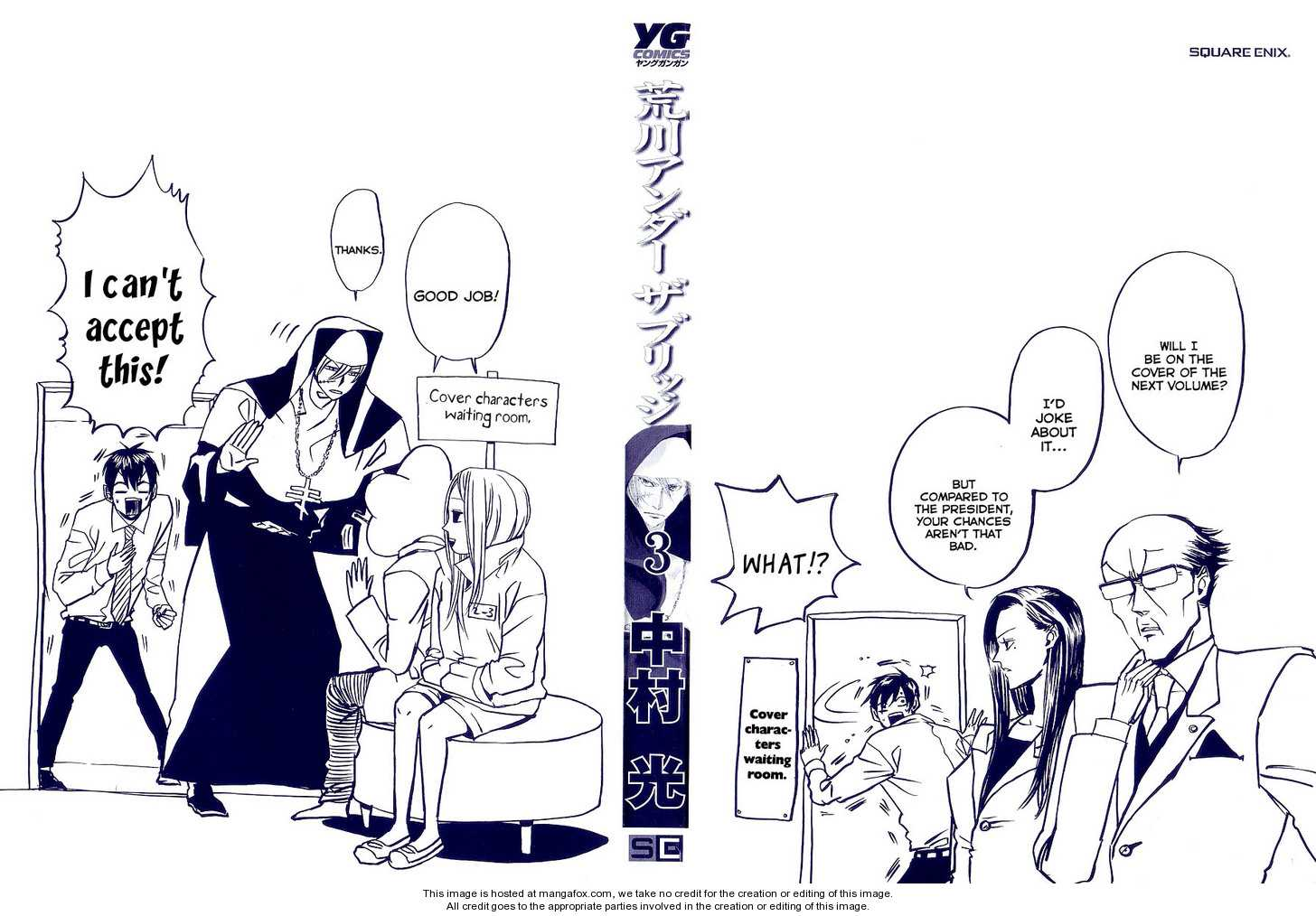 Arakawa Under the Bridge 48 Page 2
