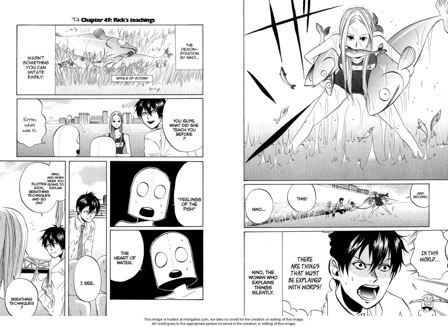 Arakawa Under the Bridge 49 Page 2