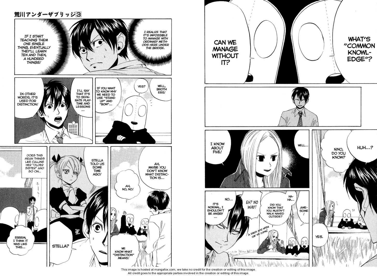 Arakawa Under the Bridge 57 Page 2