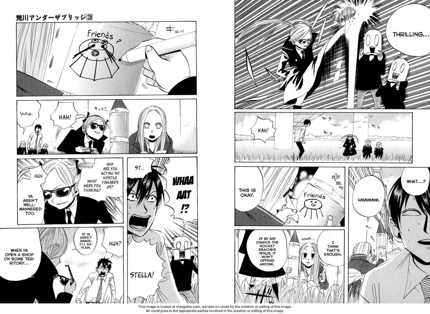 Arakawa Under the Bridge 60 Page 2