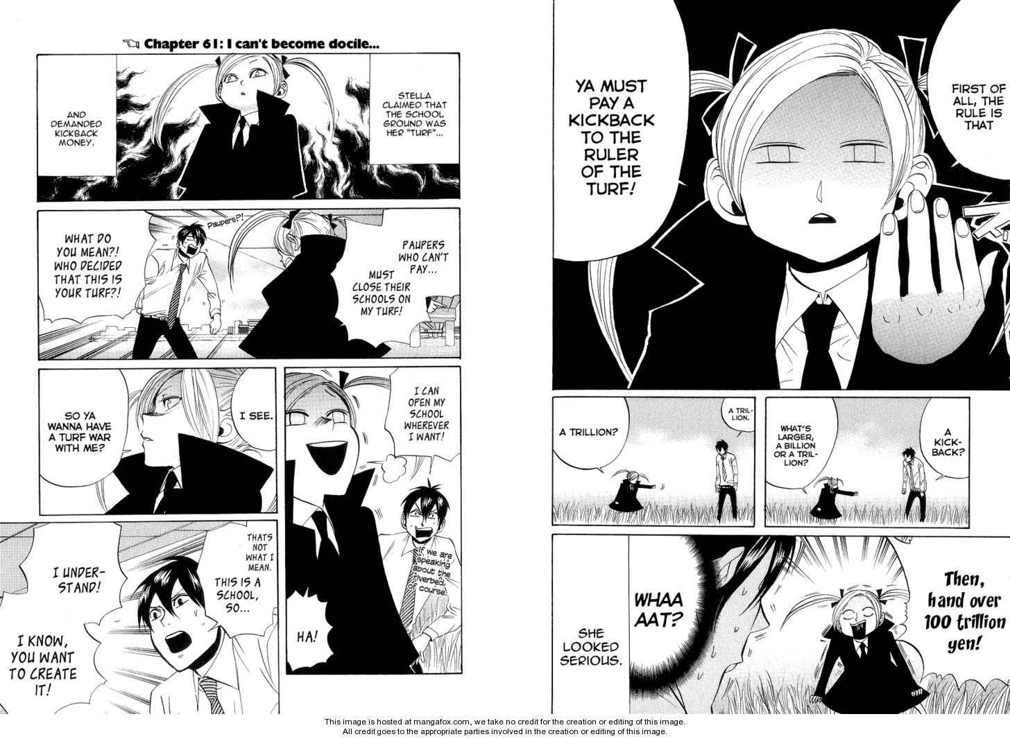 Arakawa Under the Bridge 61 Page 1