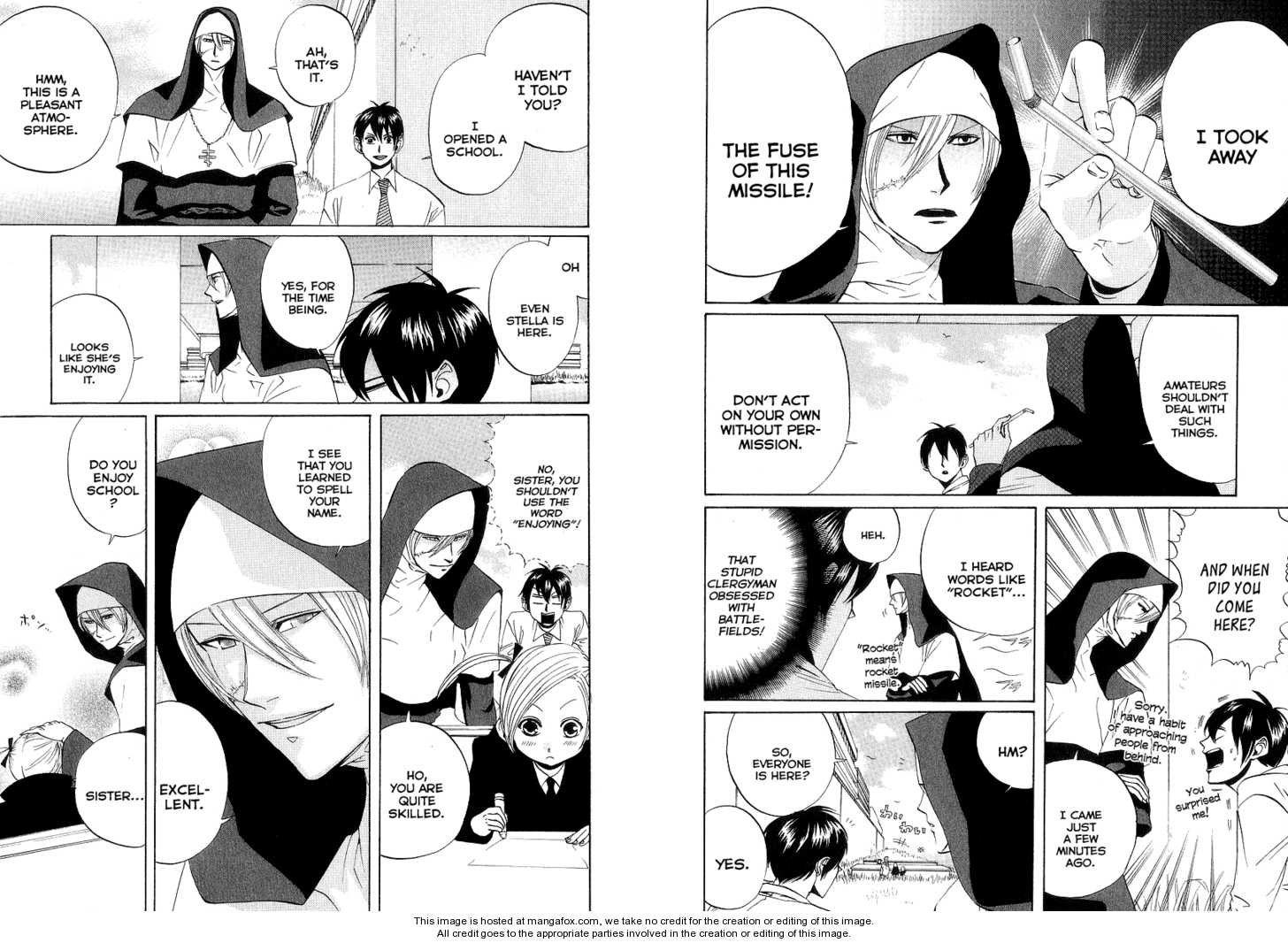 Arakawa Under the Bridge 62 Page 2