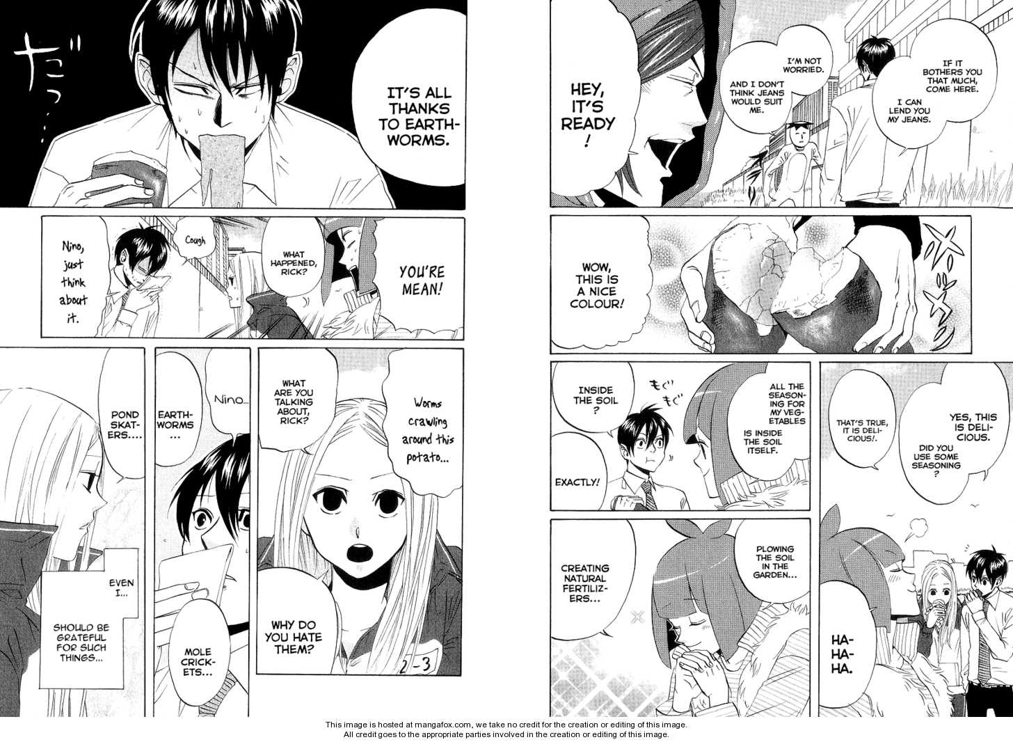 Arakawa Under the Bridge 65 Page 2