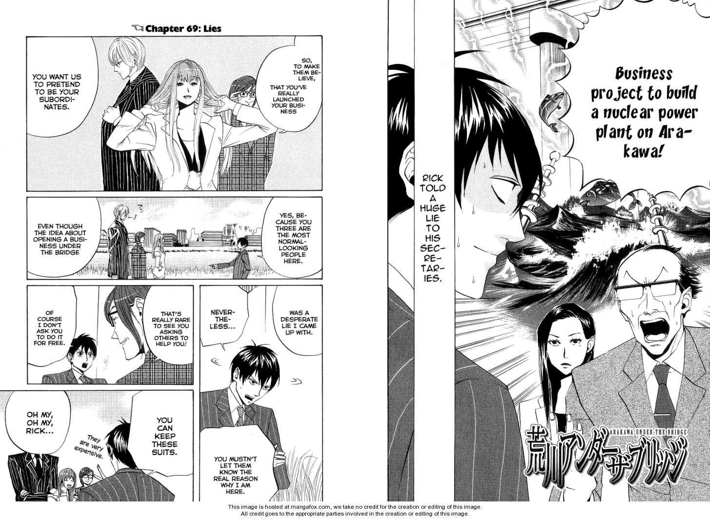 Arakawa Under the Bridge 69 Page 1