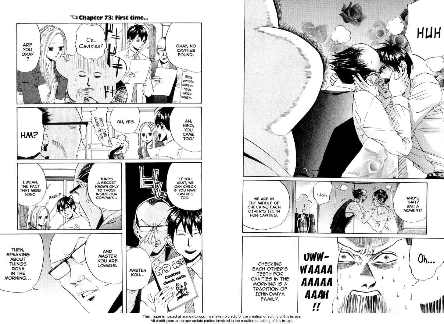 Arakawa Under the Bridge 72 Page 1