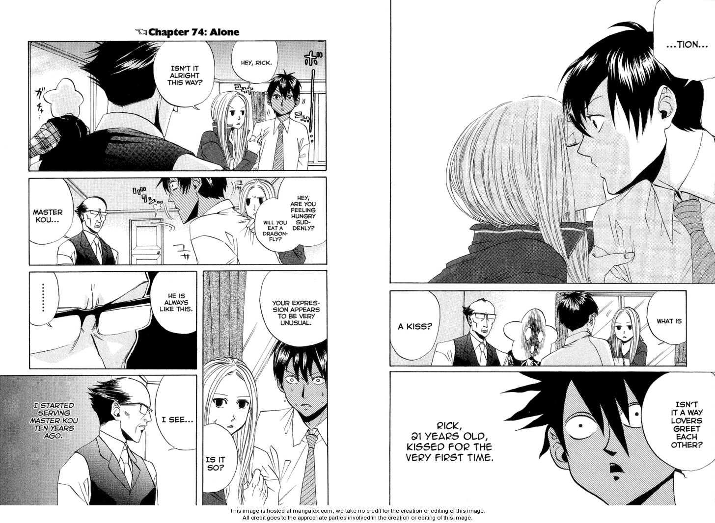 Arakawa Under the Bridge 74 Page 1