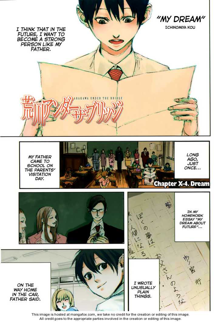 Arakawa Under the Bridge 107.2 Page 1