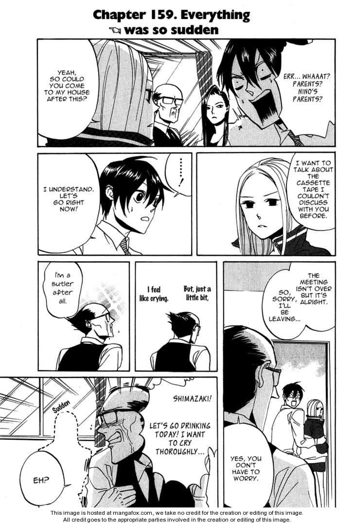 Arakawa Under the Bridge 159 Page 1