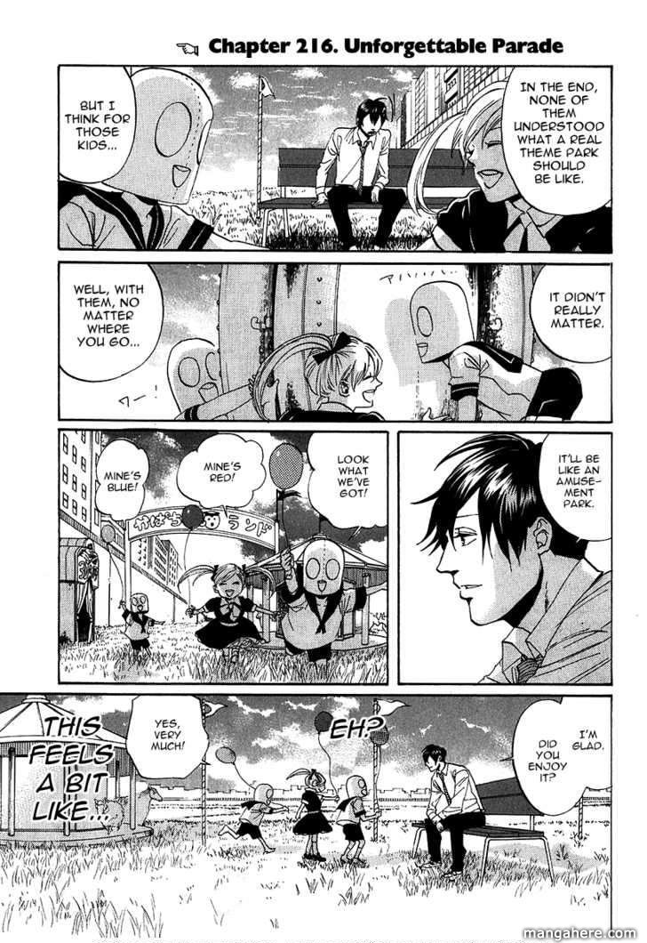 Arakawa Under the Bridge 216 Page 1