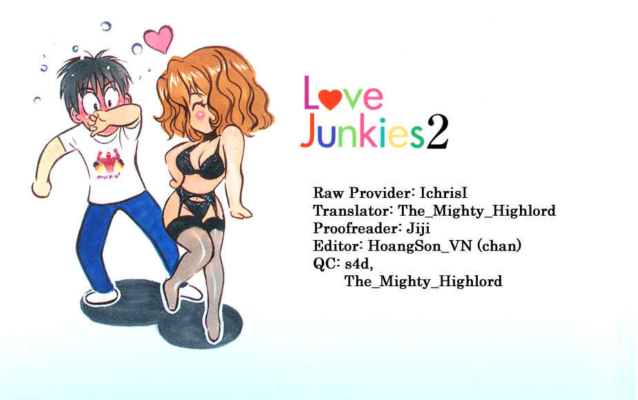 Love Junkies 19 Page 1