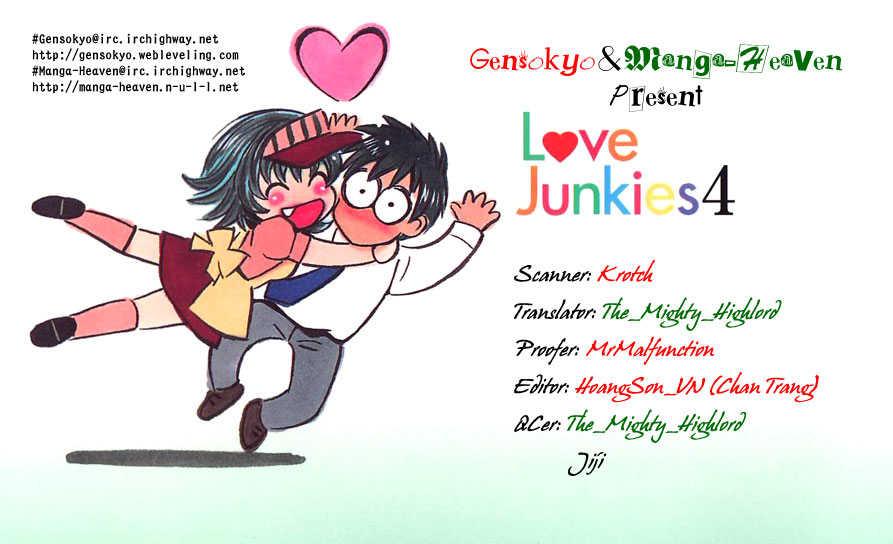 Love Junkies 33 Page 1