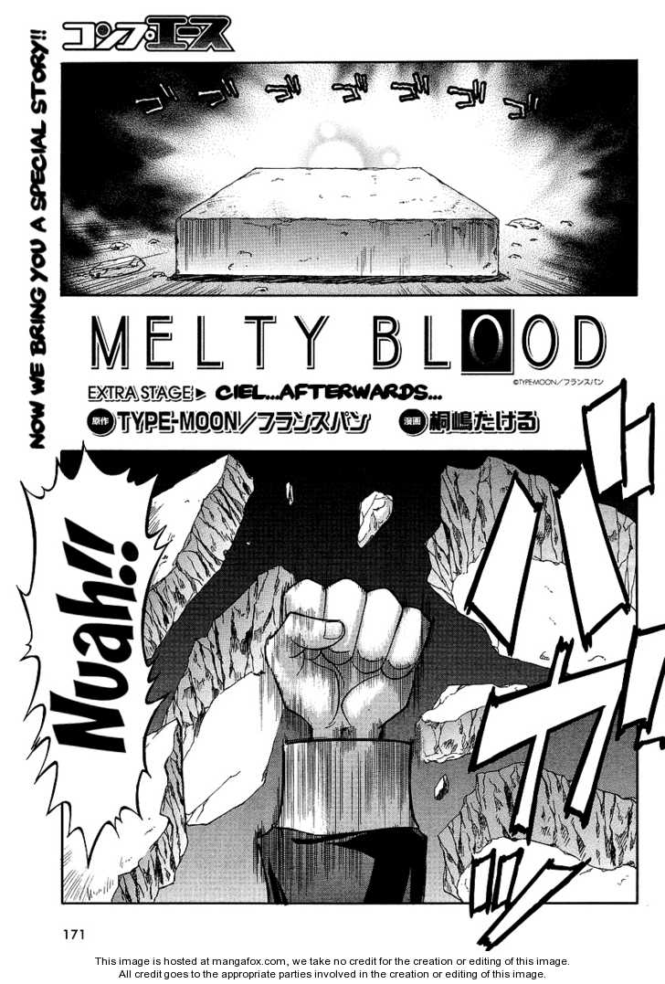 Melty Blood ACT:2 7.5 Page 1