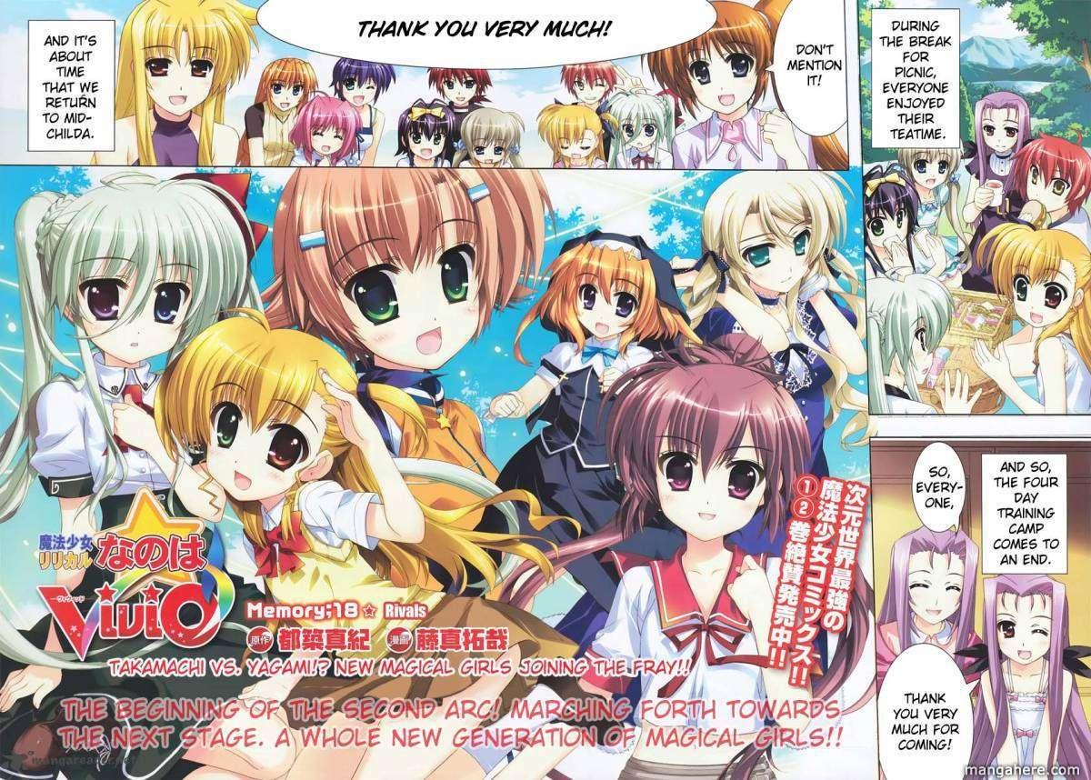 Magical Girl Lyrical Nanoha ViVid 18 Page 2