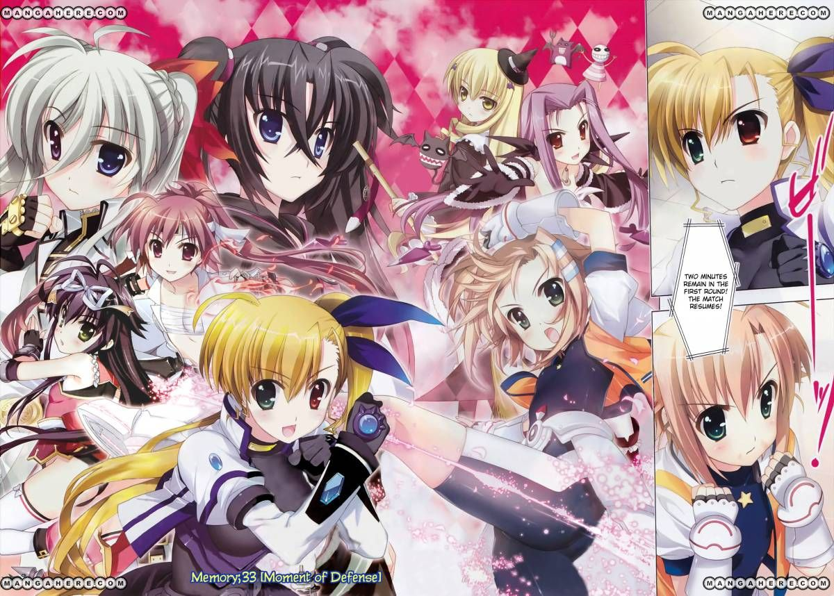 Magical Girl Lyrical Nanoha ViVid 33 Page 2