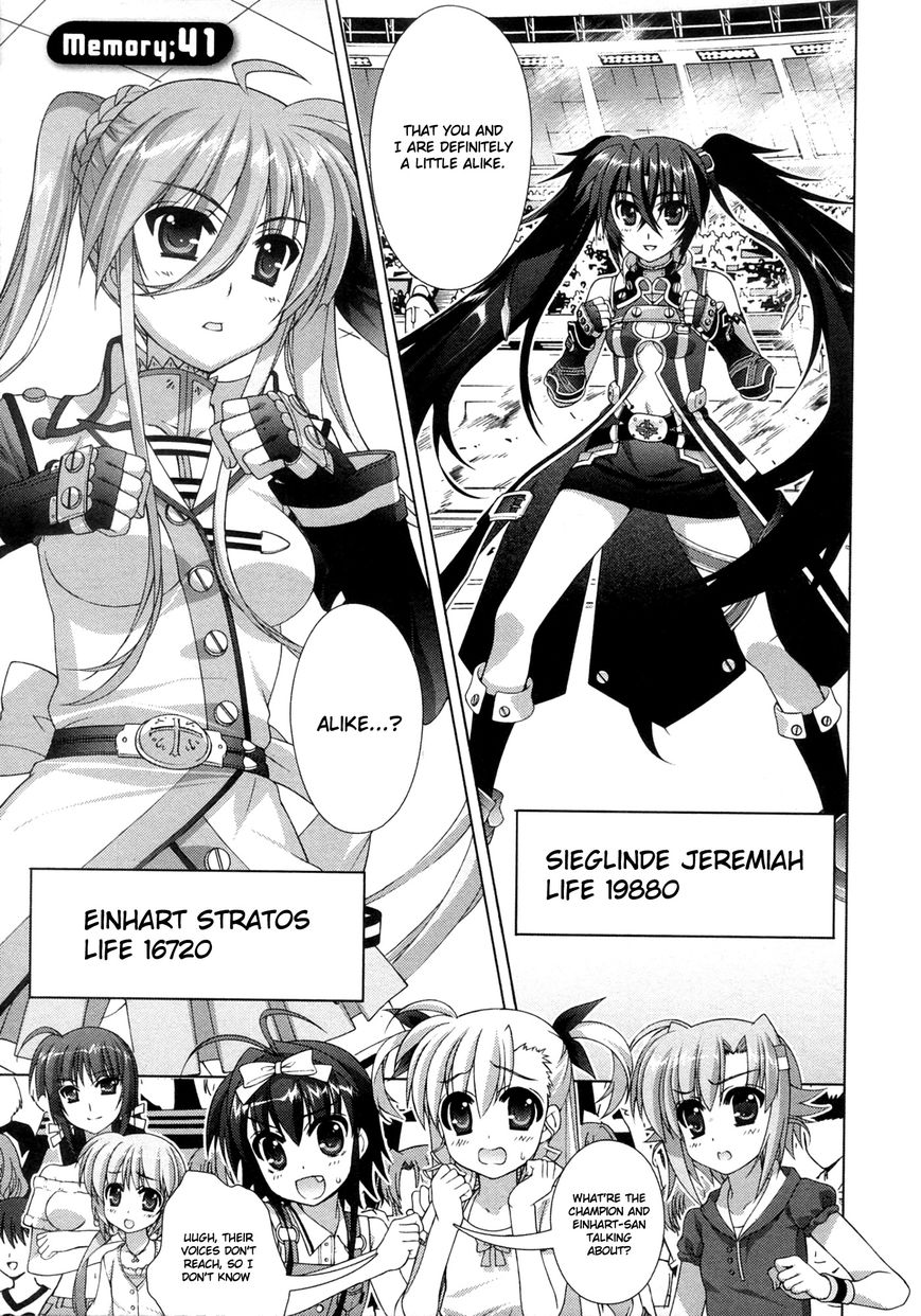 Magical Girl Lyrical Nanoha ViVid 41 Page 1