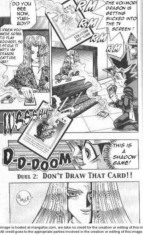 Yu-Gi-Oh! Duelist 2 Page 1