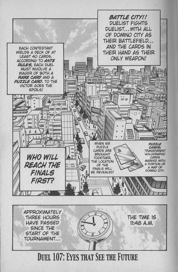 Yu-Gi-Oh! Duelist 107 Page 1