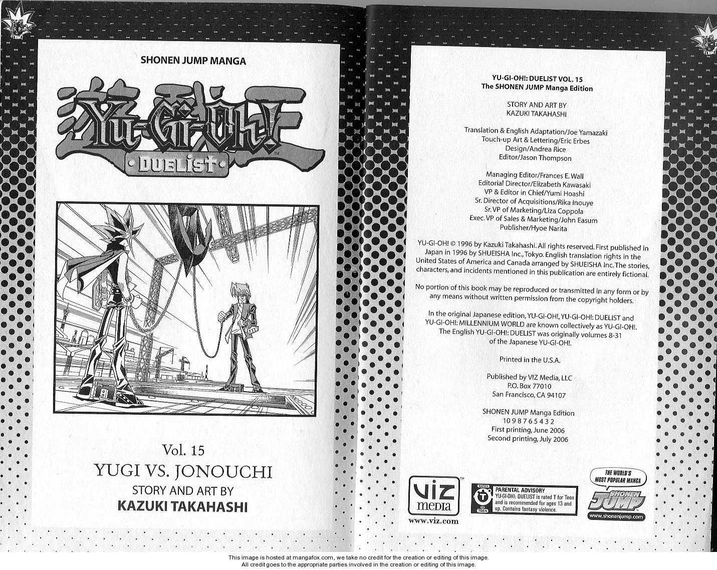 Yu-Gi-Oh! Duelist 129 Page 1