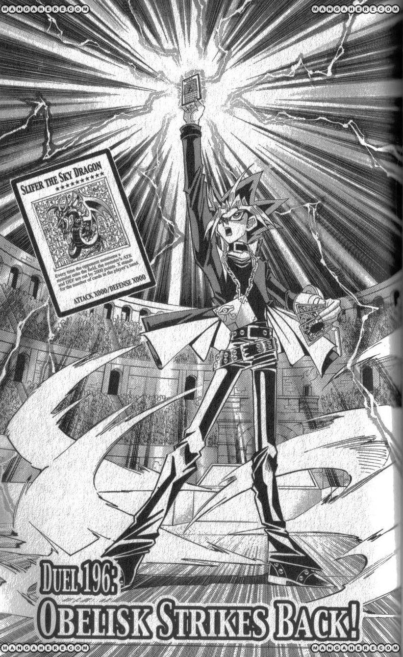 Yu-Gi-Oh! Duelist 196 Page 1