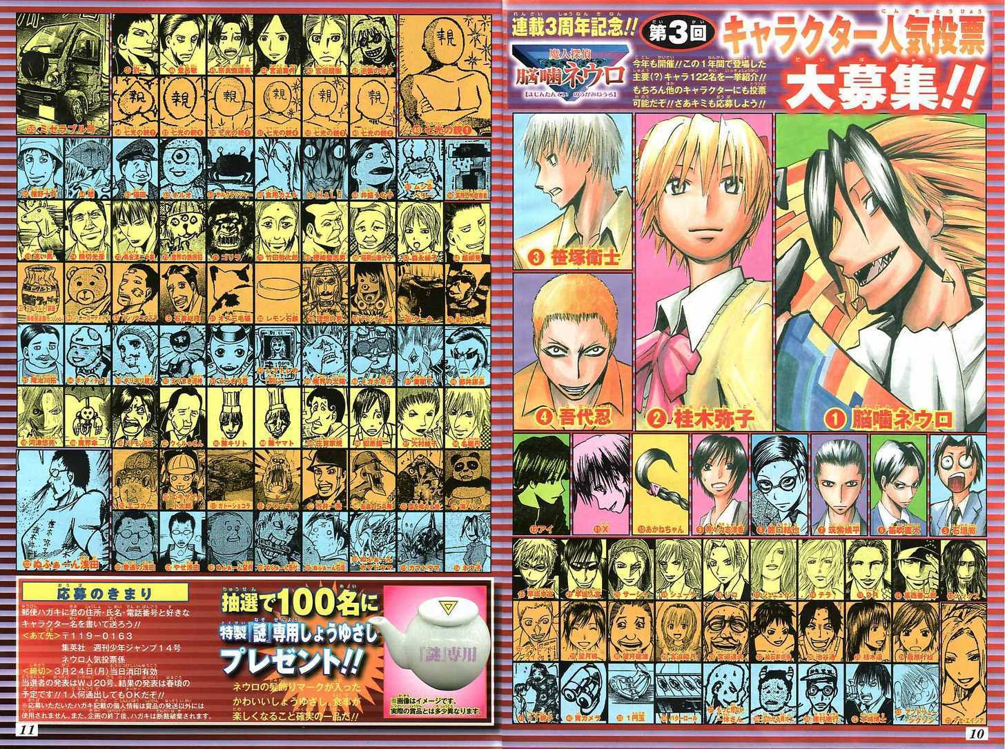 Majin Tantei Nougami Neuro 147 Page 3