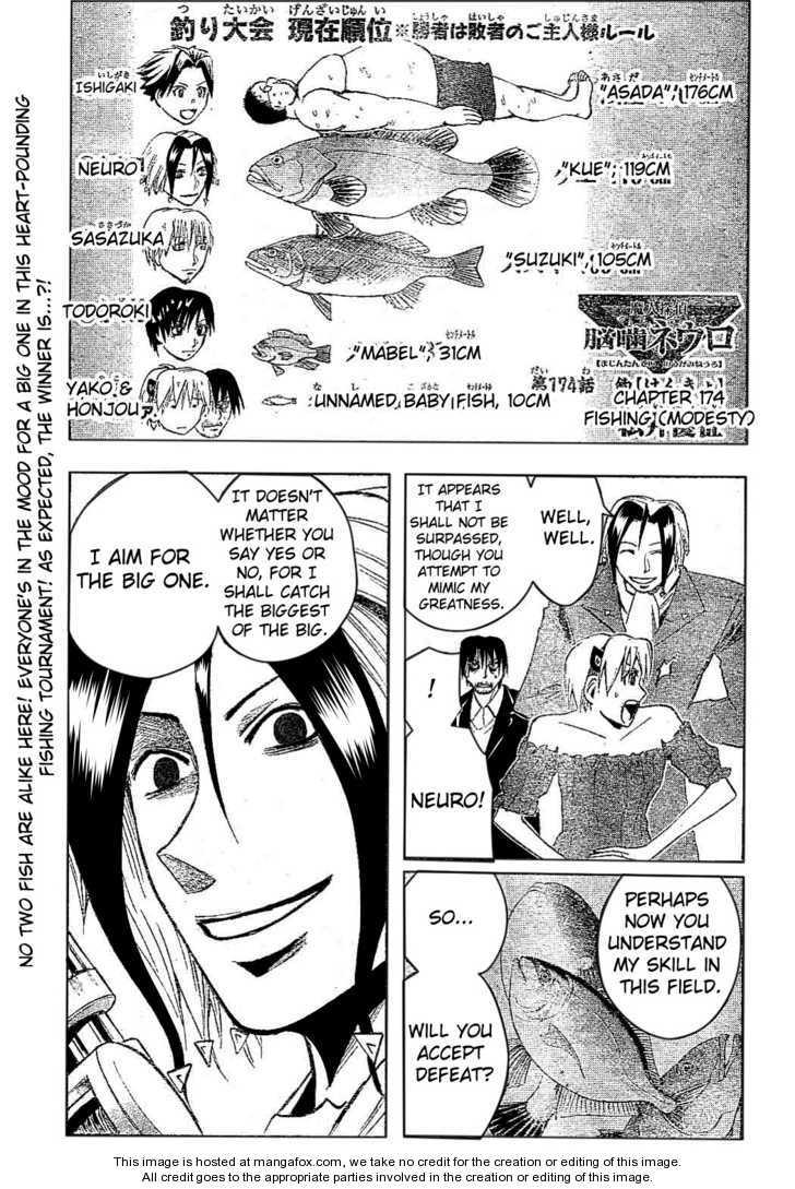 Majin Tantei Nougami Neuro 174 Page 1