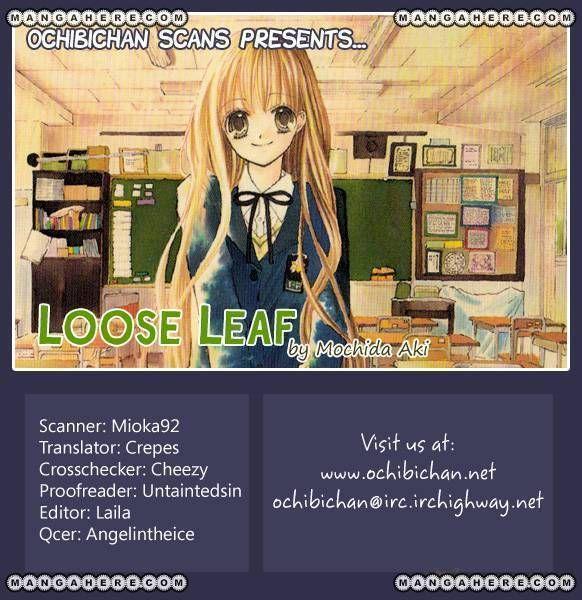 Loose Leaf 1 Page 1