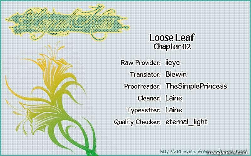 Loose Leaf 2 Page 2