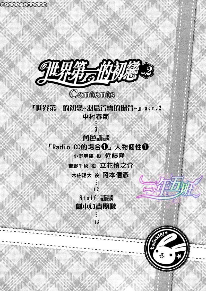 Sekaiichi Hatsukoi 10 Page 3