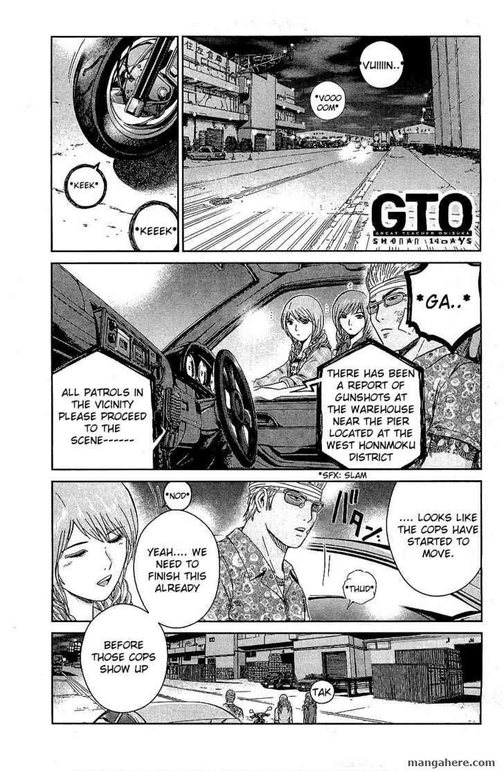 GTO - Shonan 14 Days 33 Page 1