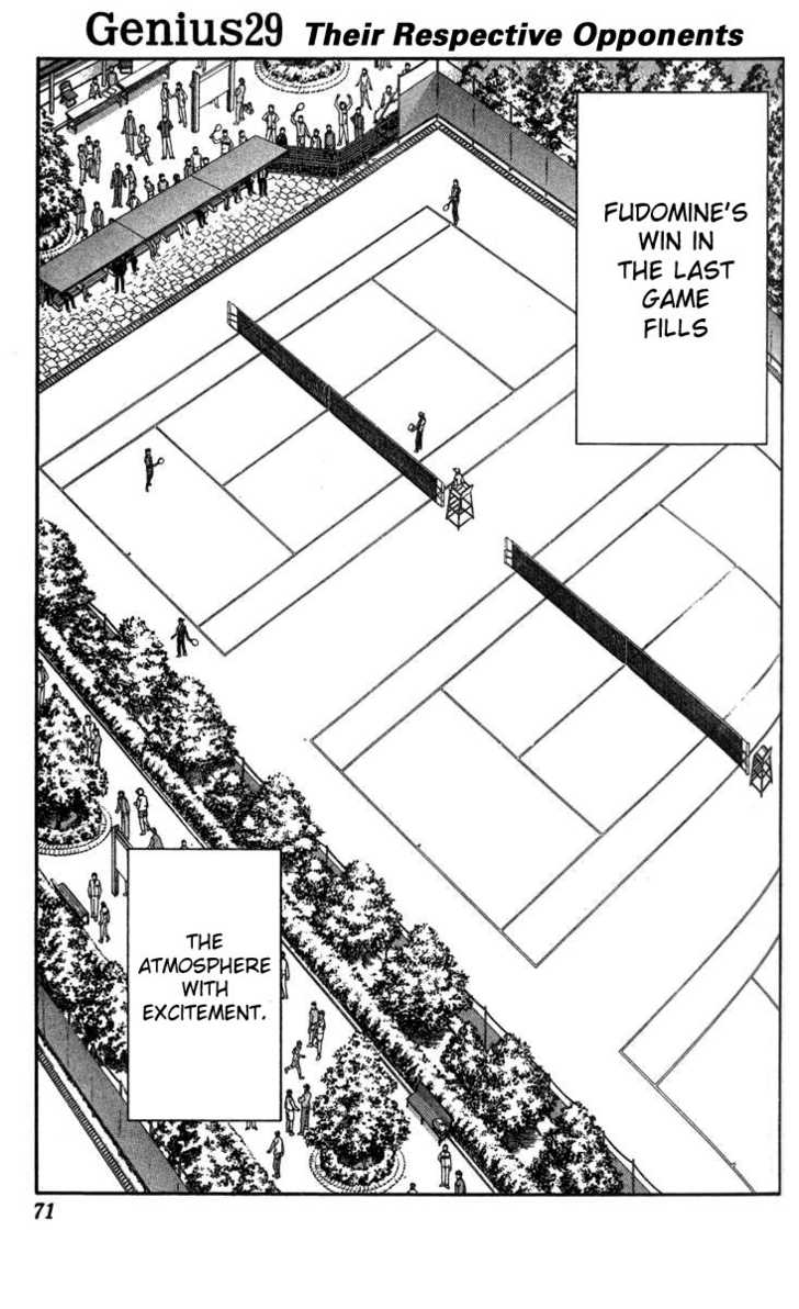 Prince of Tennis 29 Page 1