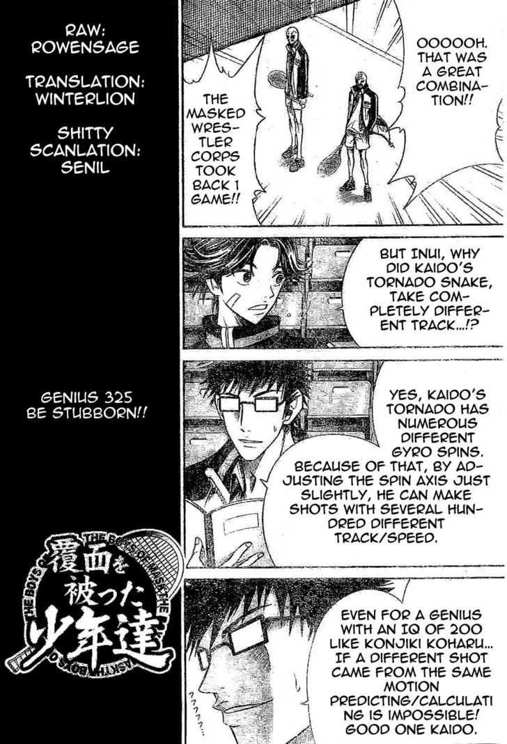 Prince of Tennis 325 Page 2