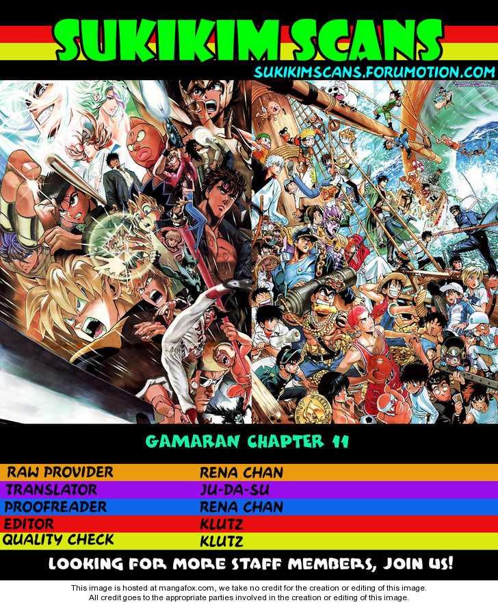 Gamaran 11 Page 1