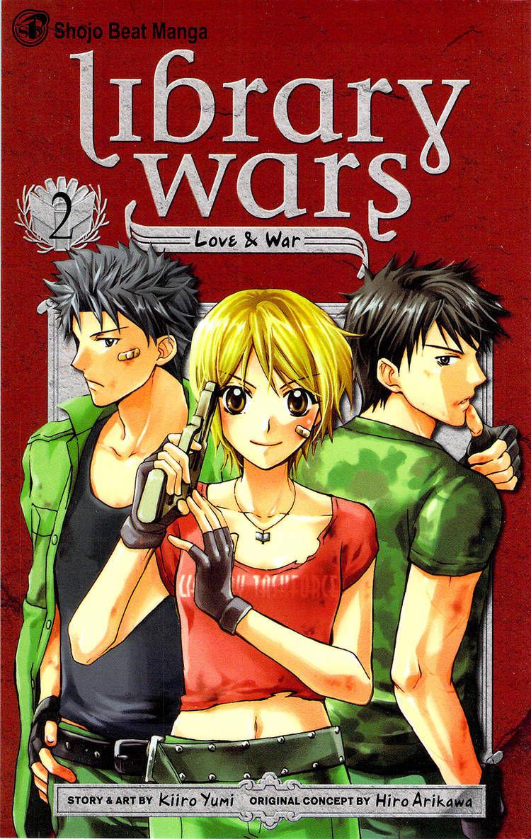 Toshokan Sensou: Love & War 5 Page 1