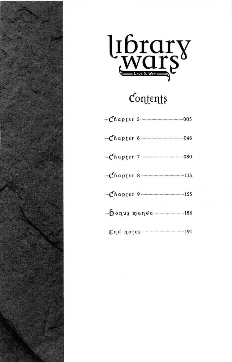 Toshokan Sensou: Love & War 5 Page 3