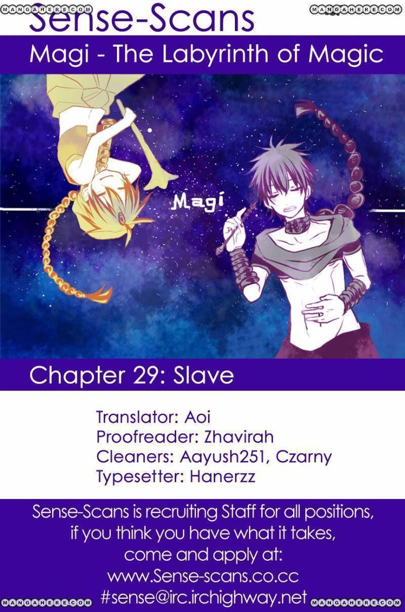 Magi 29 Page 1