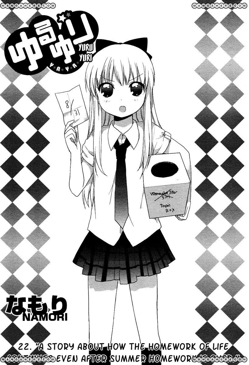 Yuru Yuri 22 Page 1