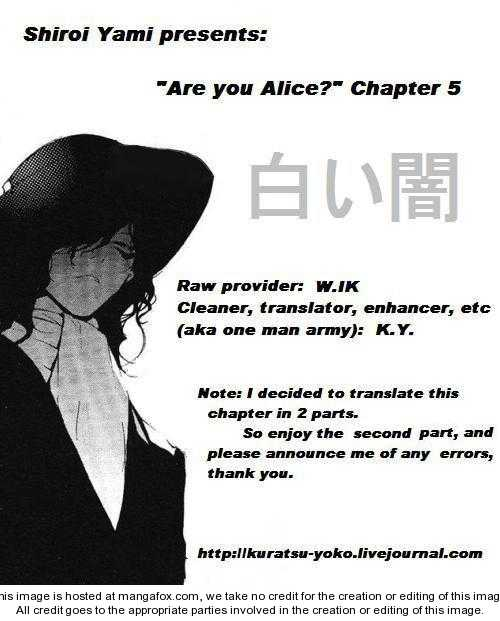 Are You Alice? 5.2 Page 1