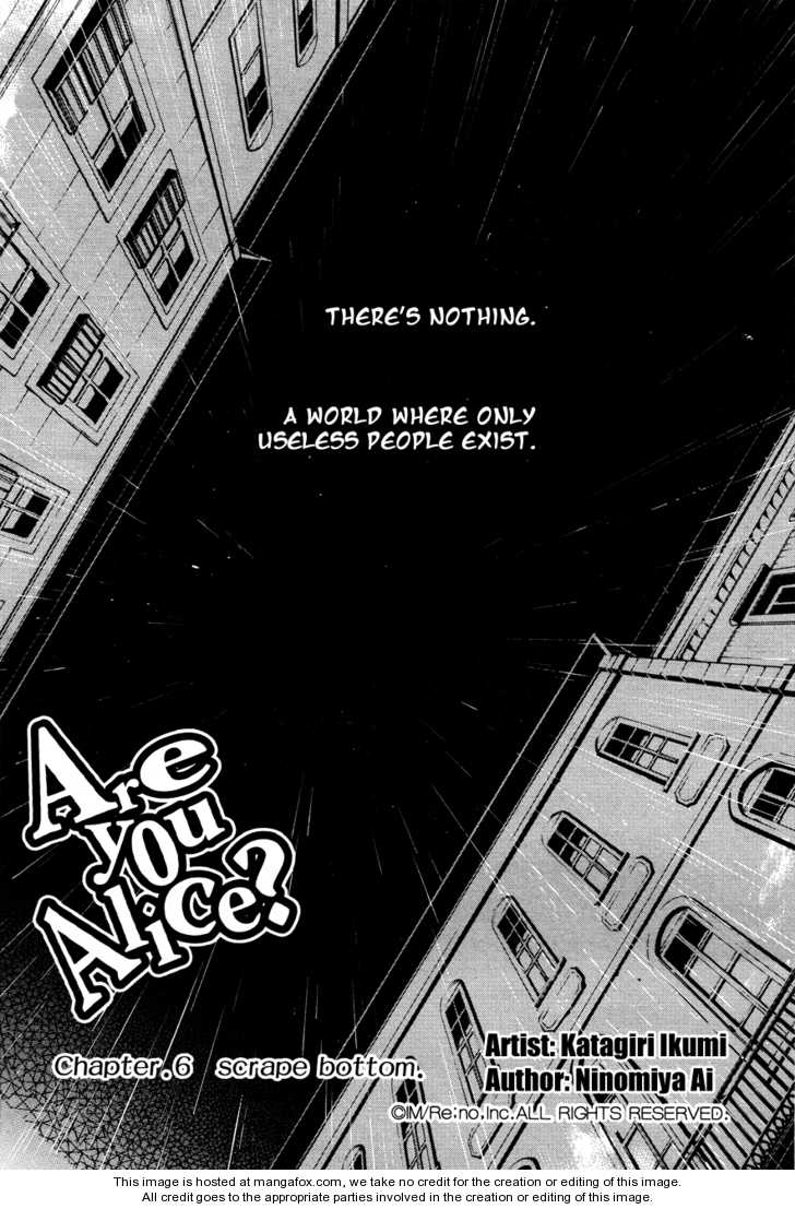 Are You Alice? 6 Page 2