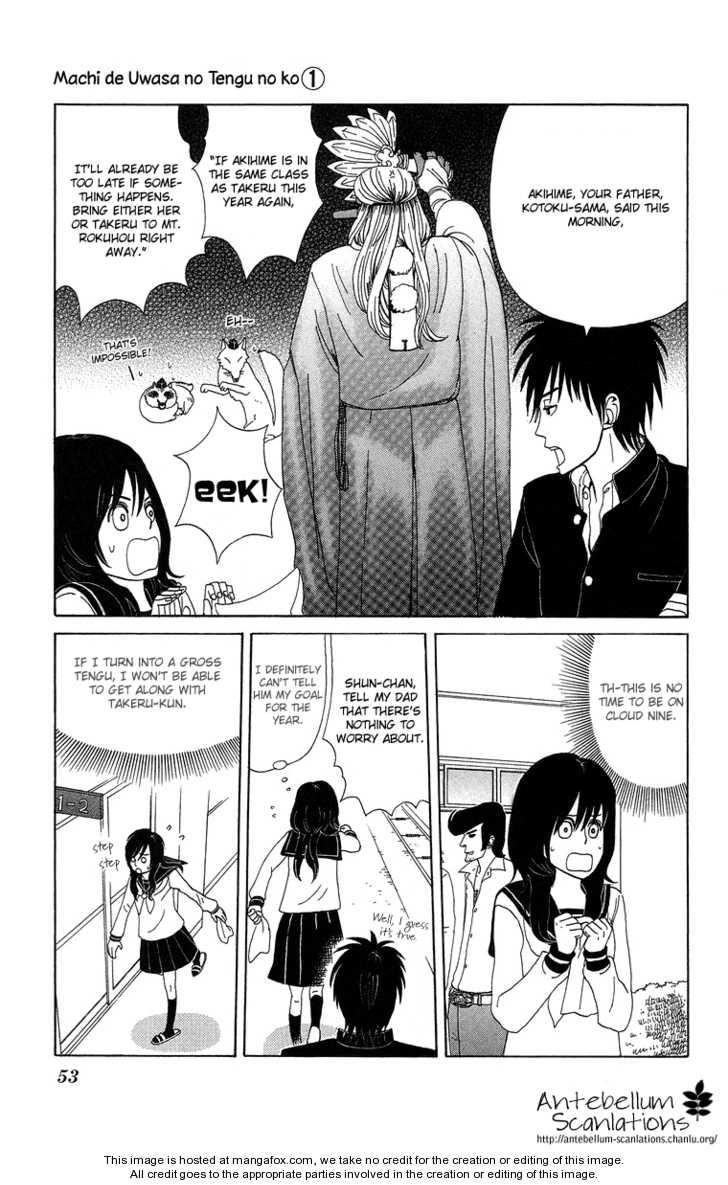 Machi de Uwasa no Tengu no Ko 3 Page 3