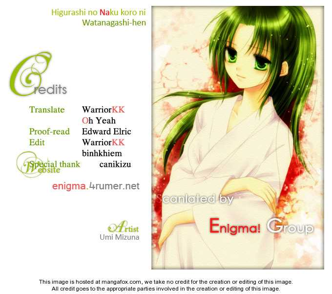 Higurashi no Naku Koro ni ~ Watanagashi 12 Page 1