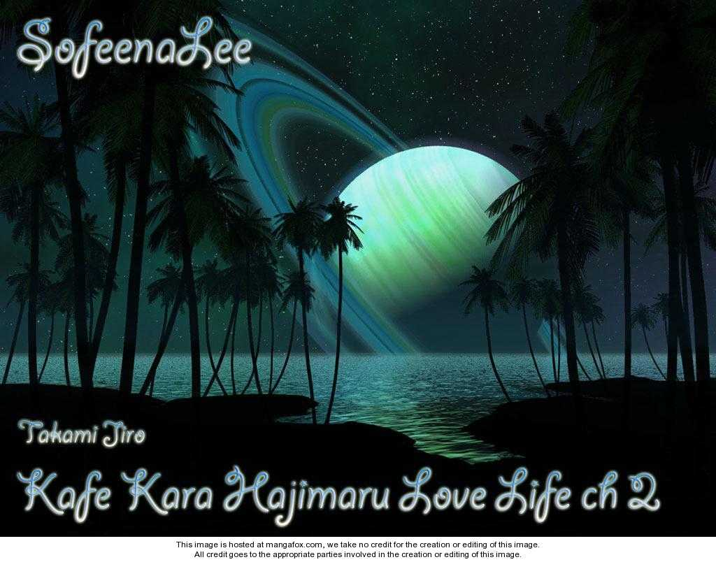 Kafe Kara Hajimaru Love Life 2 Page 1
