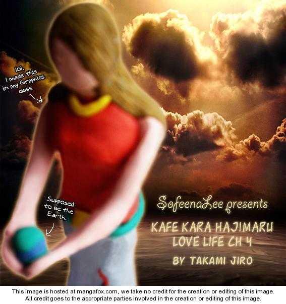Kafe Kara Hajimaru Love Life 4 Page 1