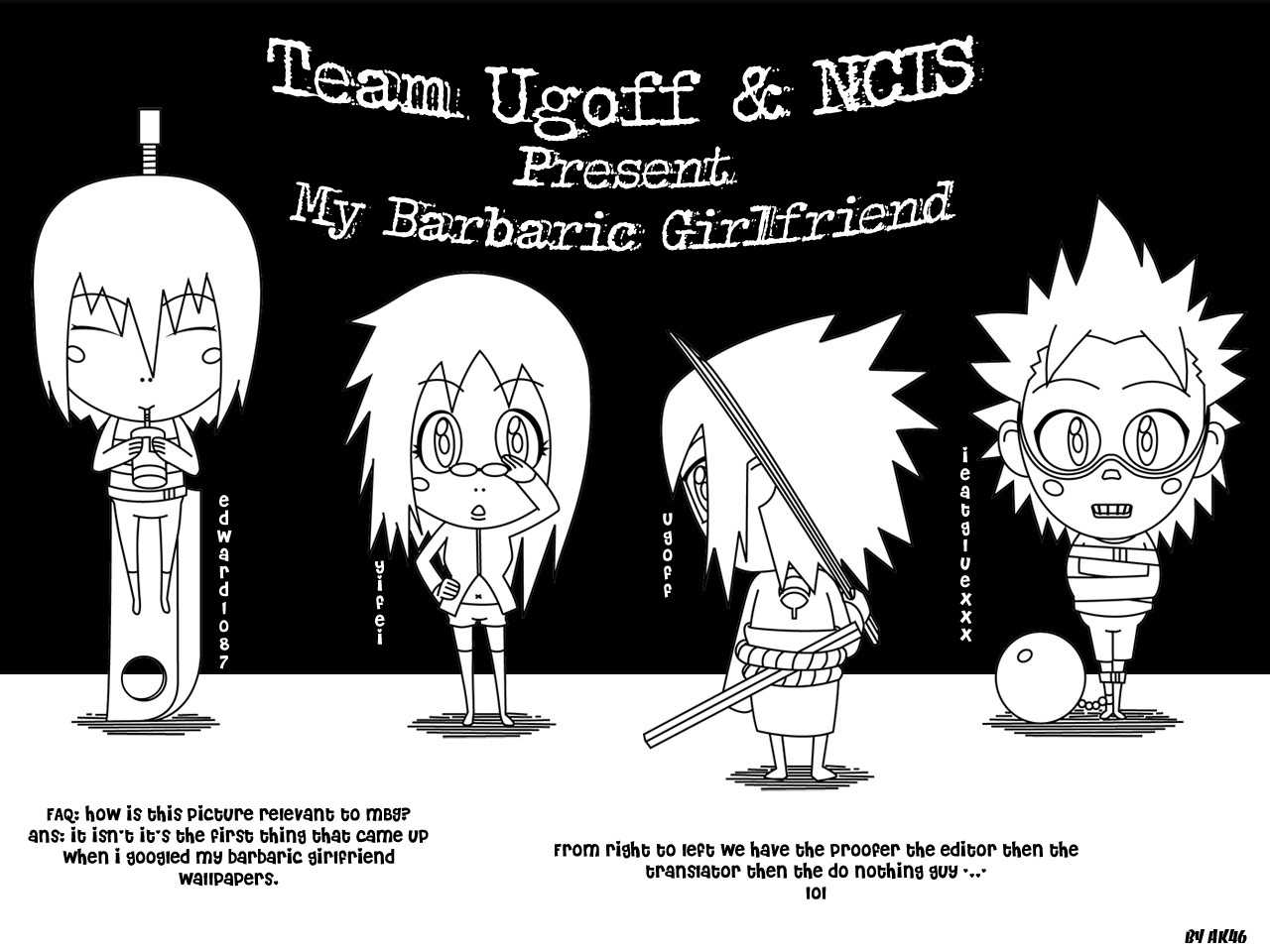My Barbaric Girlfriend 4 Page 1