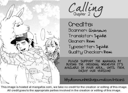 Calling (OOTSUKI Miu) 2 Page 1