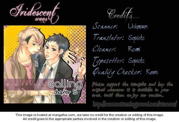 Calling (OOTSUKI Miu) 5 Page 1