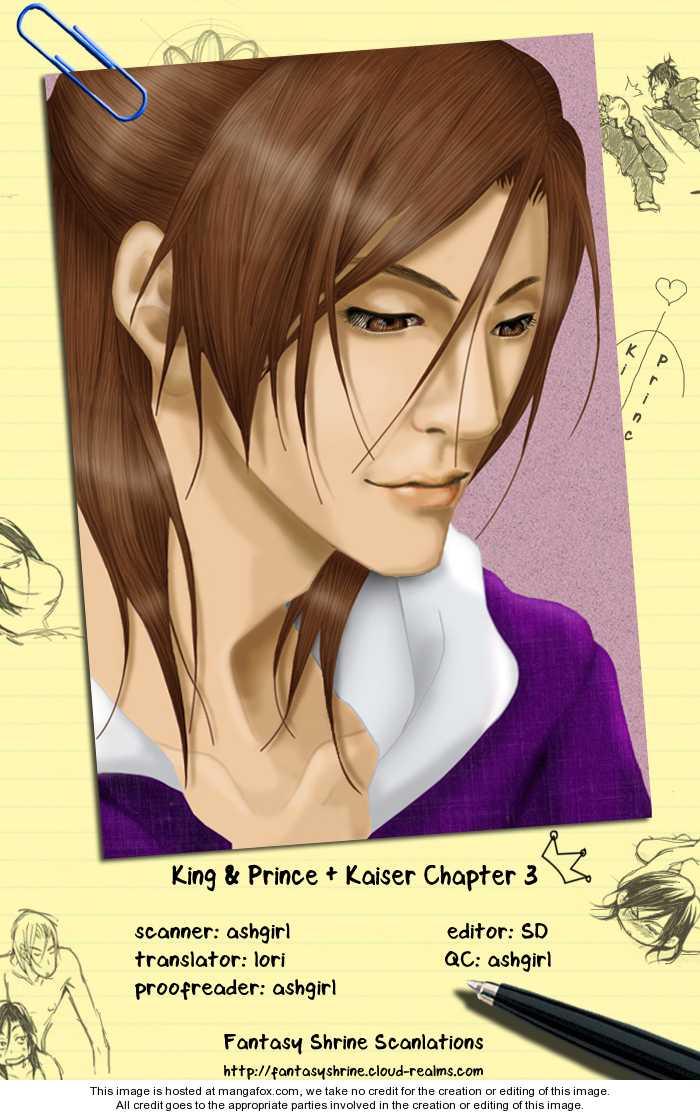 King & Prince + Kaiser 3 Page 1