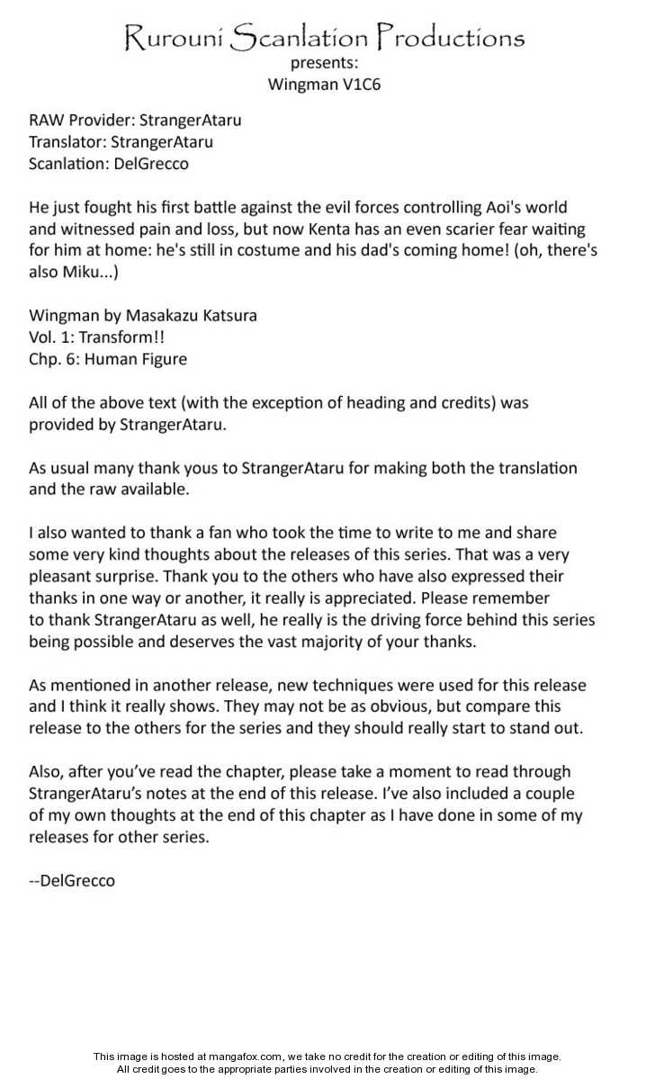 Wingman 6 Page 1