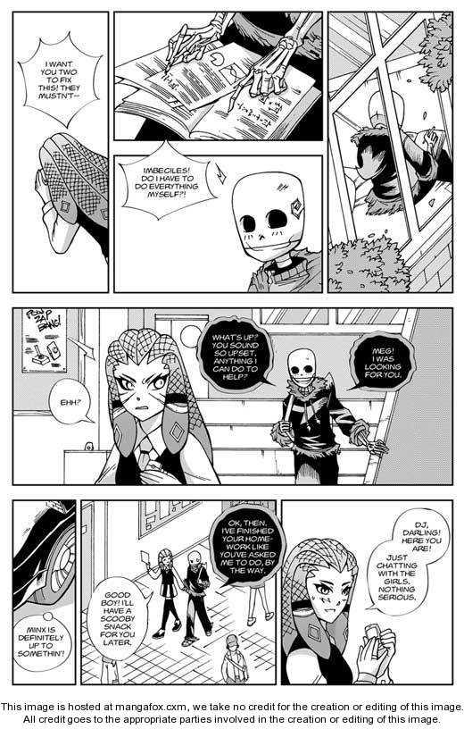 Pandora: A Death Jr. Manga 4 Page 2