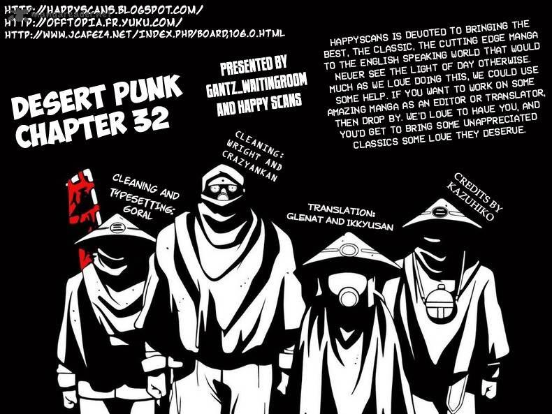 Desert Punk 33 Page 1